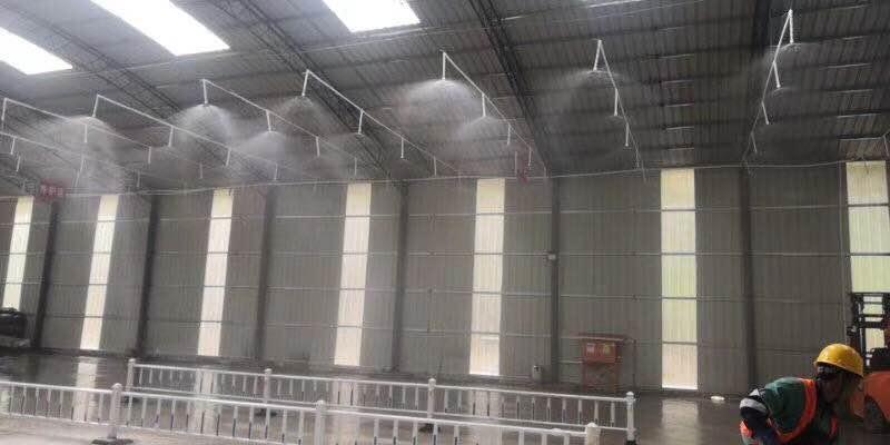 工业车间喷雾降尘、降温