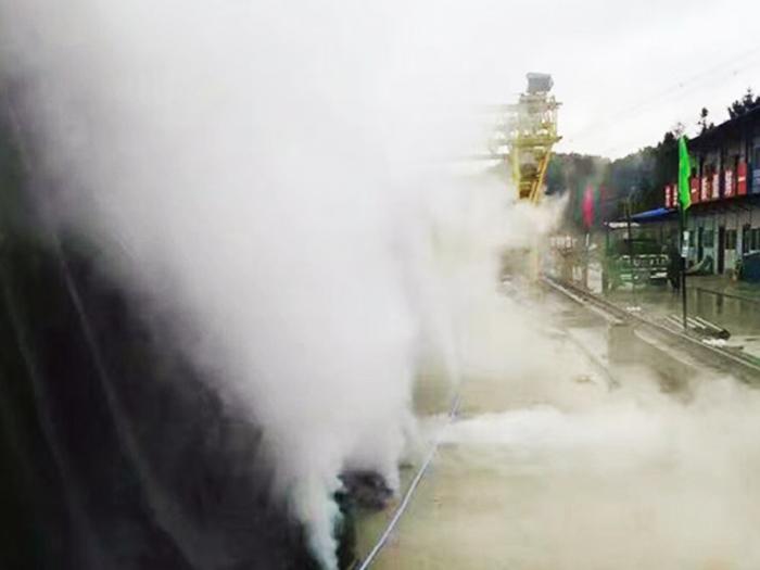 桥梁冬季蒸汽养生