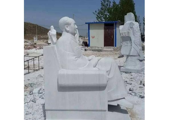石雕毛主席像