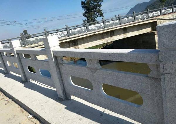 河道河堤石雕栏杆