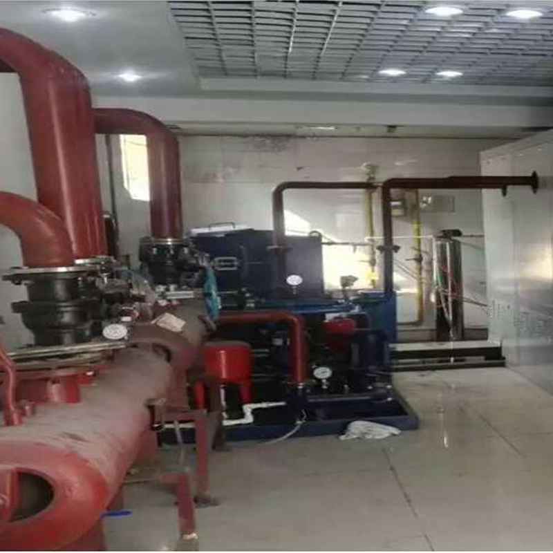 山东某石化办公楼供暖项目
