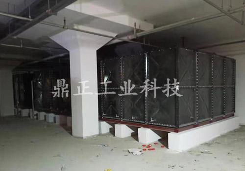 徐州搪瓷钢板人防水箱