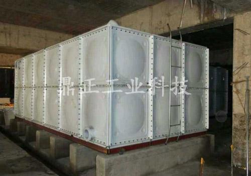 裝配式噴塑鋼板水箱
