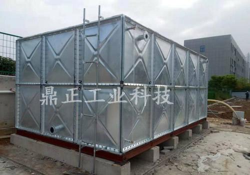 徐州消防镀锌钢板水箱