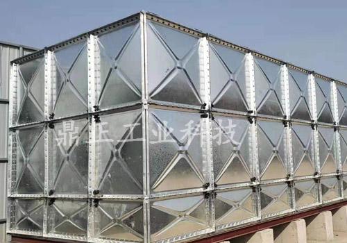 淮北镀锌钢板水箱安装