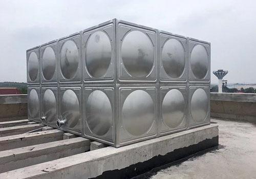 普洱不锈钢消防生活水箱