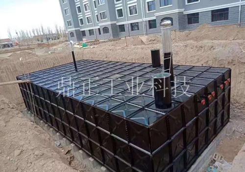 地埋式箱泵一體化泵站