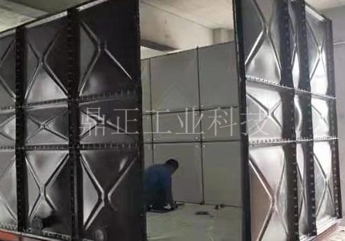 鍍鋅鋼板水箱現場安裝
