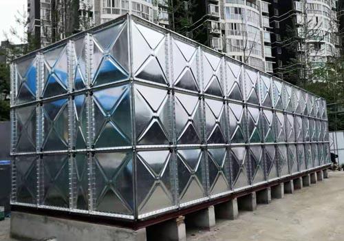 徐州镀锌钢板水箱