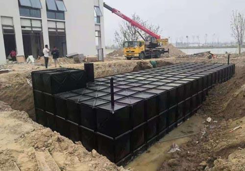 抗浮地埋式箱泵一體化水箱