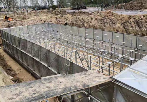 白城地埋箱泵一体抗浮水箱