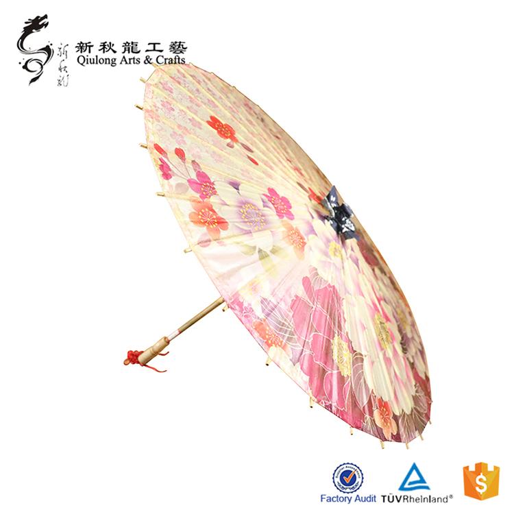 早期油纸伞的制作与运用
