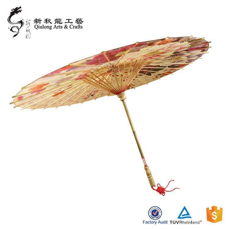 古典油纸伞的制作工艺