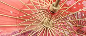 油紙傘起源于中國的一種紙制或布制傘