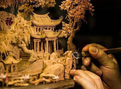 福建软木画:大世界中的小天地,小天地中的大智慧!