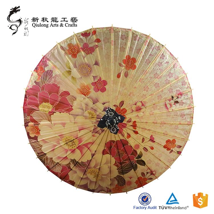 中式油纸伞和日式纸伞有什么区别?