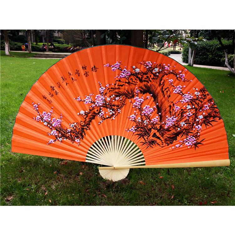 福建油纸伞之80多岁老人一次做伞