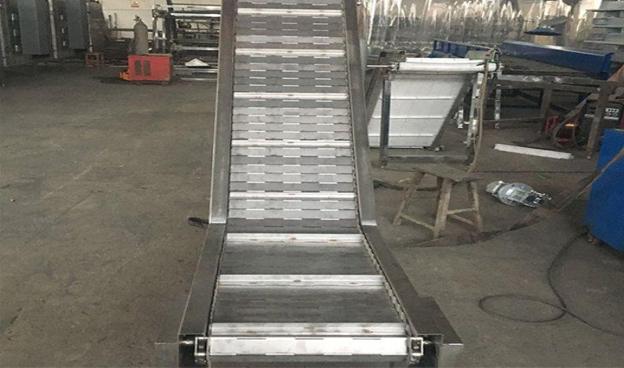 碳钢链板提升机