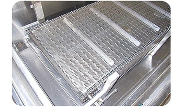 高温链板式网带