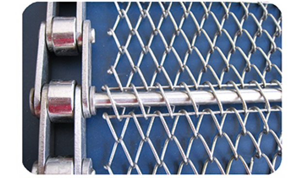 不锈钢菱形网带