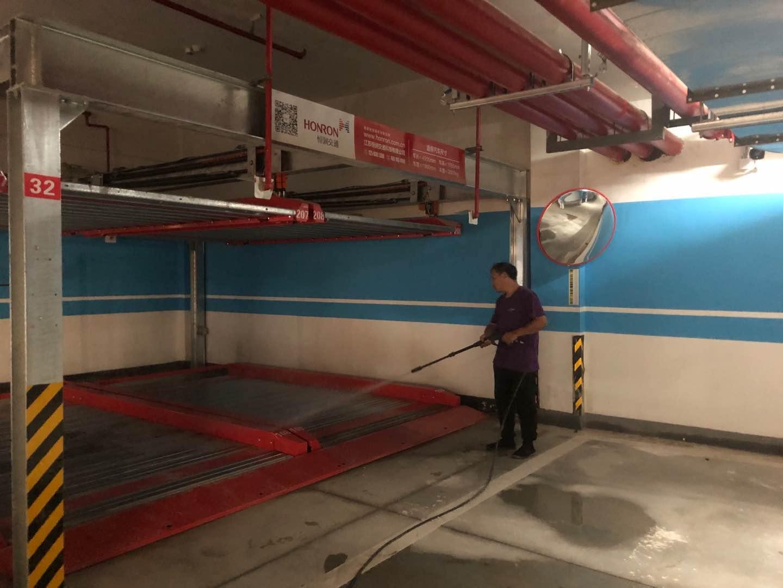 南京小区地下车库地面开荒保洁…