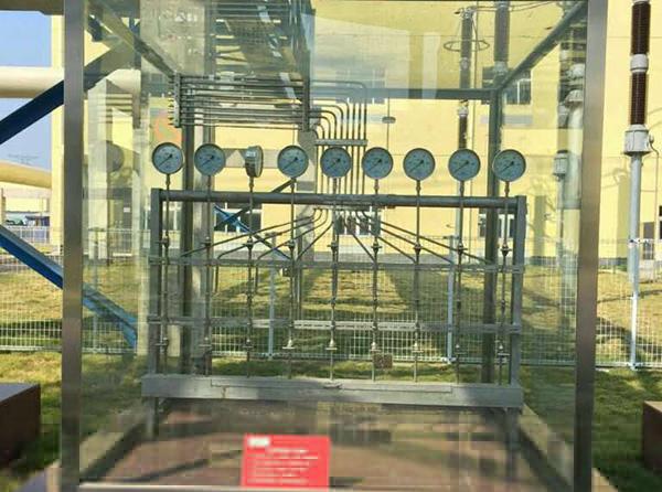 电厂钢化玻璃罩