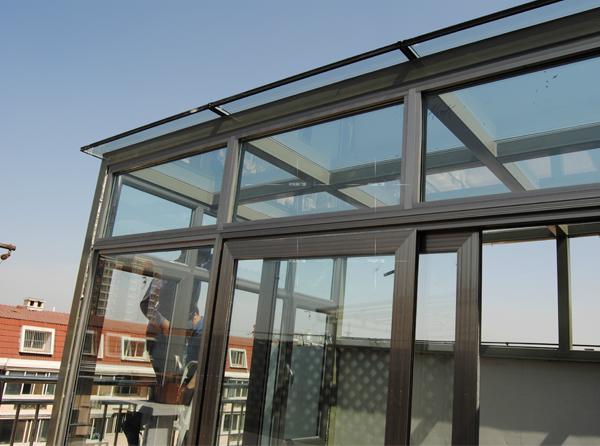 楼顶阳光房施工案例