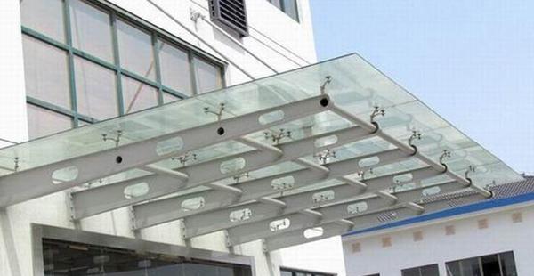 南阳室外玻璃雨棚厂家