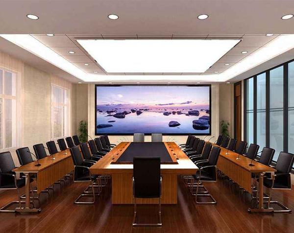 公司会议室显示屏