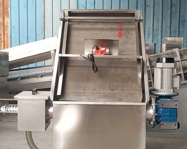 斜筛式猪粪固液分离机