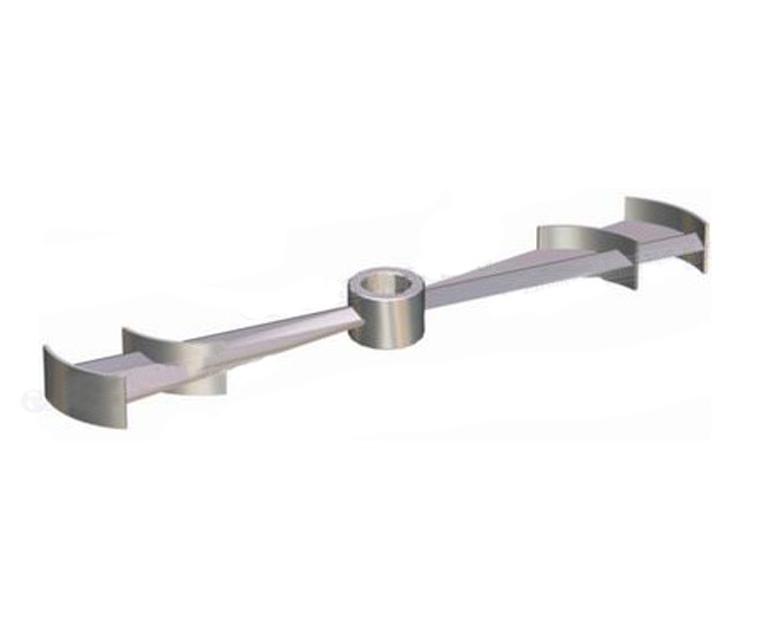 菱臂孤叶式搅拌器