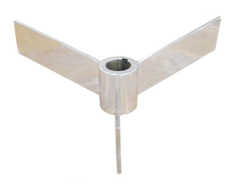 三直叶锥底式搅拌器