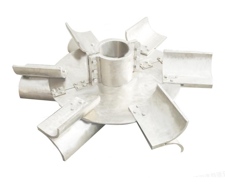 可拆式箭叶圆盘涡轮