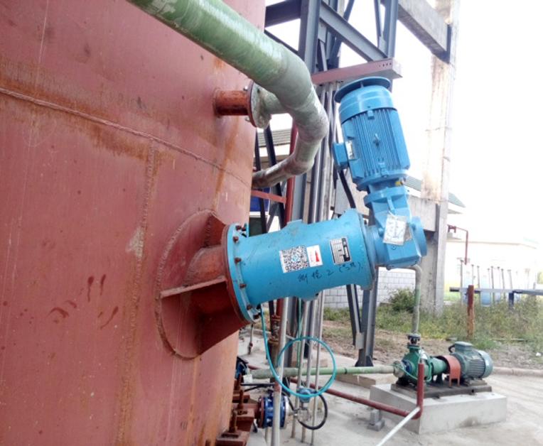 侧进式搅拌机-脱硫1