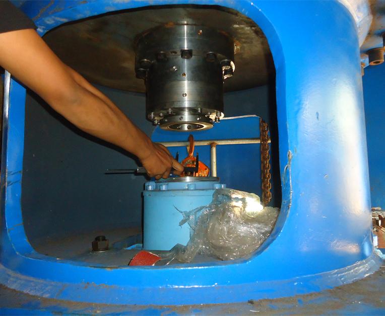 氧漂塔底部机械密封