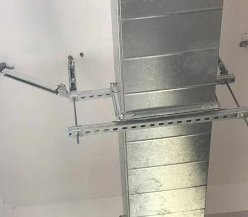 抗震支架风管