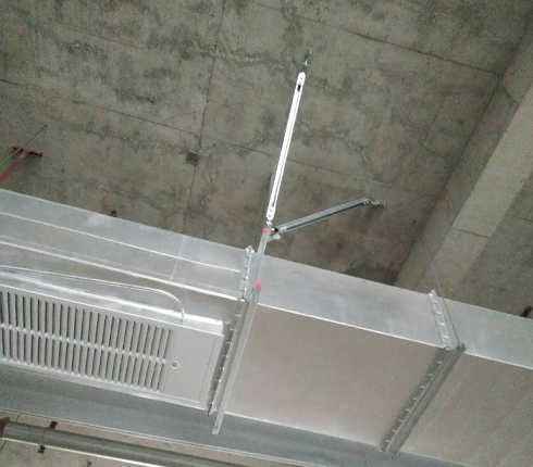 垂直管支架
