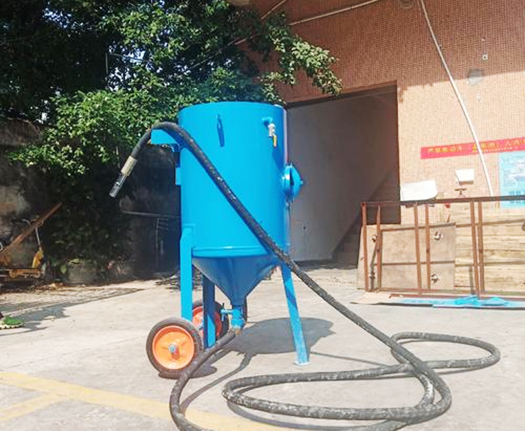 加压移动式喷砂机