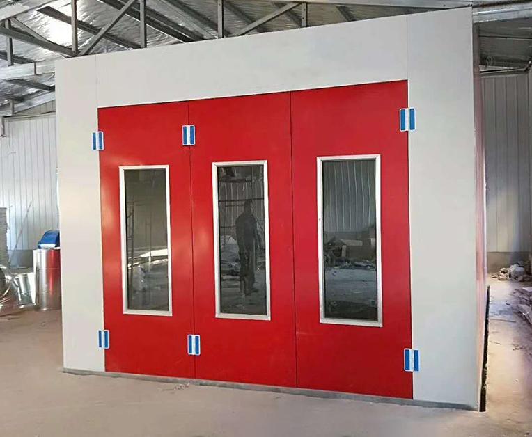 自动伸缩式喷漆房