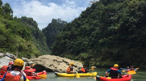 景区PVC漂流船