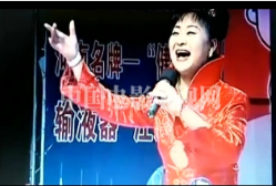 """红""""靓姐王庭静演唱豫剧《五世请缨》""""一家人欢天喜地"""""""