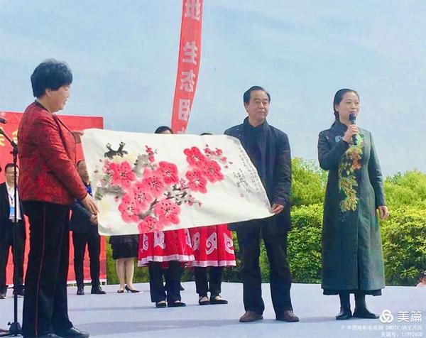 中国电影电视网 网影书画院院长吴菲 弘扬书画传统文化 做新时代精神文明建设带头人