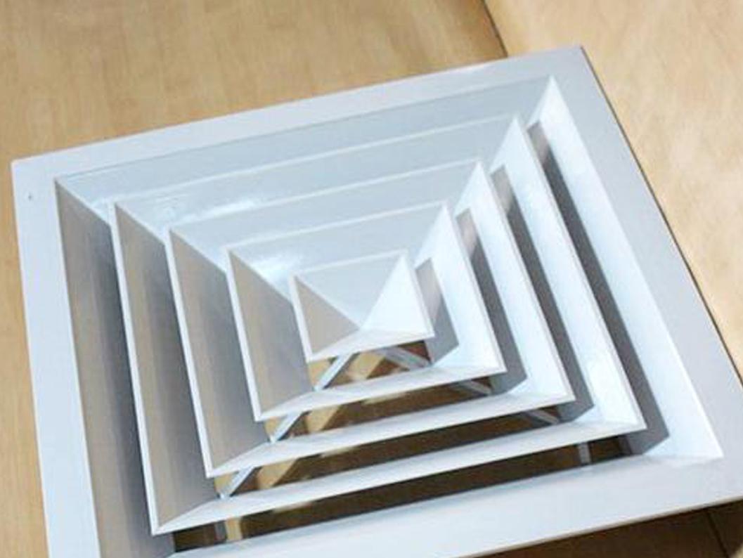 济宁方形直片散流器