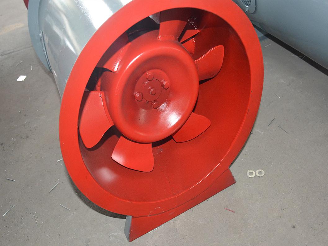 消防高温排烟风机