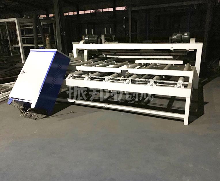 保温结构一体化免拆模板之切割生产线