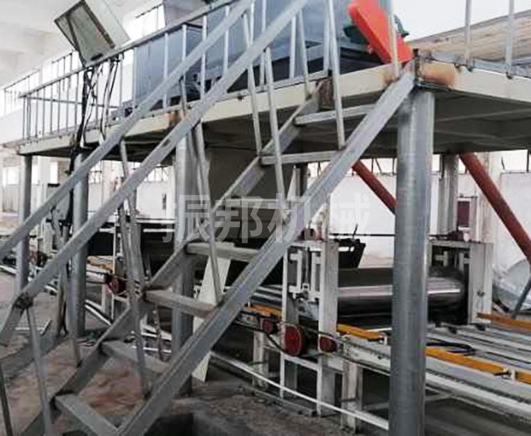 玻镁防火板生产线