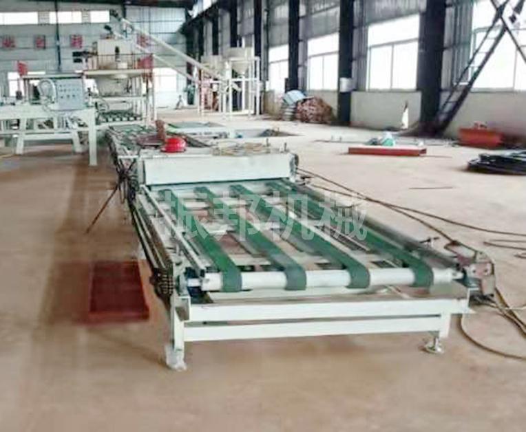 匀质板设备生产线