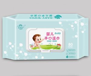广西迪比尼婴儿手口湿巾
