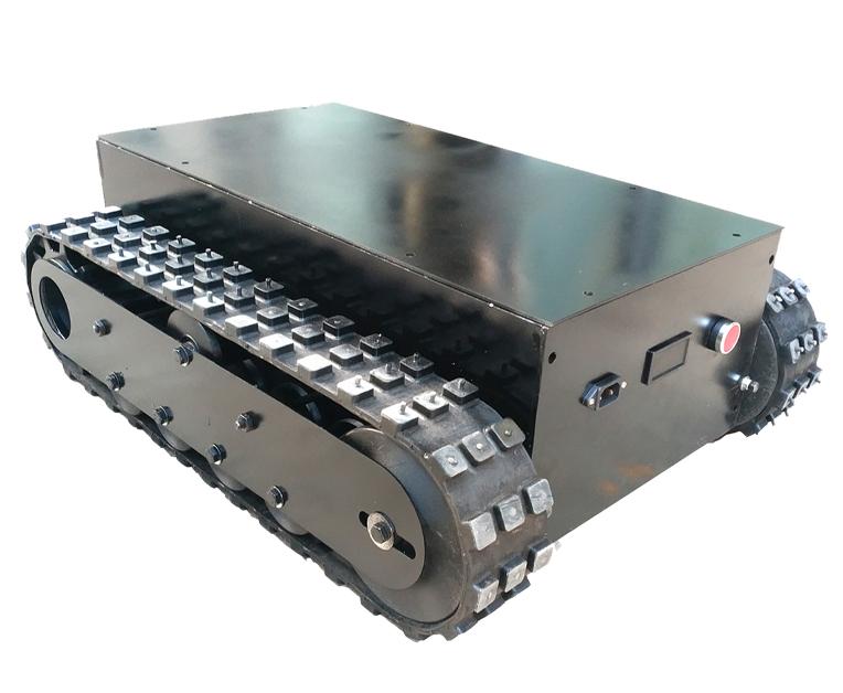 解析橡胶履带底盘的技术要求。