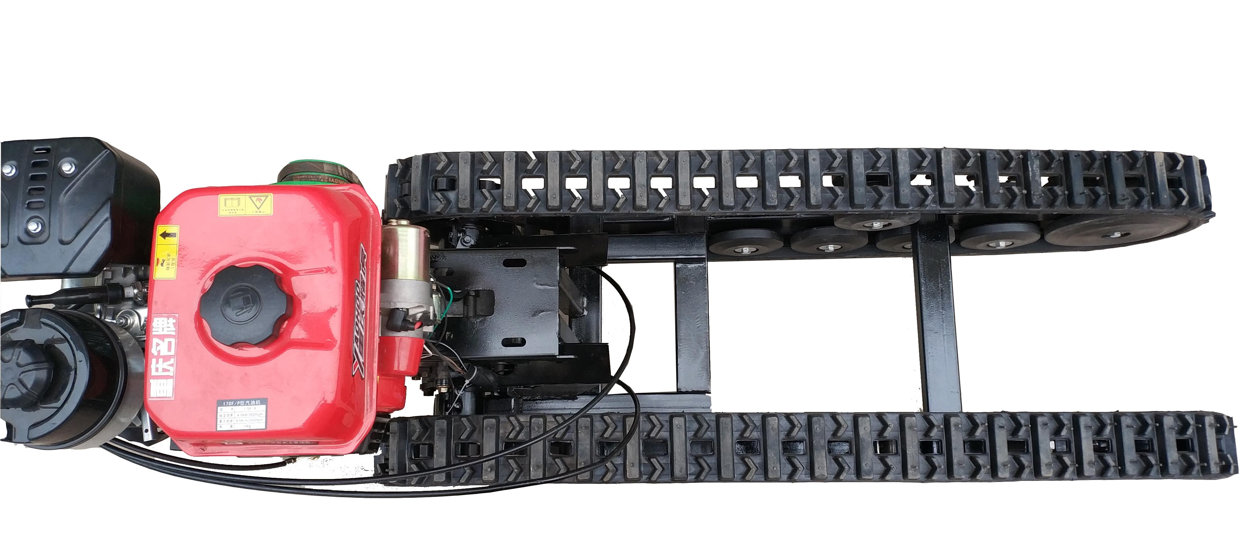 对河南橡胶履带底盘的技术要求有哪些?